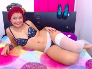 Picture of the sexy profile of CuteViolet, for a very hot webcam live show !