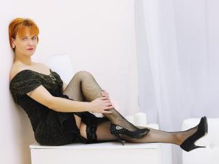 GingerLiz girl webcam model